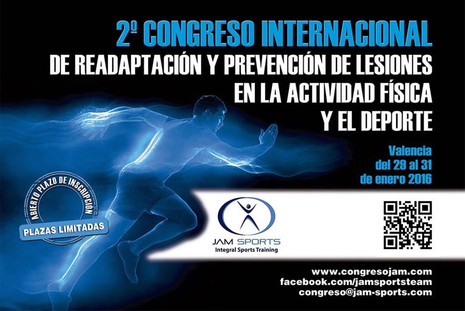 2º Congreso Internacional de Readaptación y Prevención de Lesiones en la Actividad Física y el Deporte