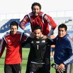 Entrenamiento de fuerza para porteros de futbol con tecnología isoinercial I