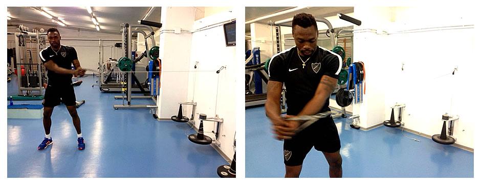 Entrenamiento de fuerza para porteros de fútbol