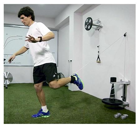 El entrenamiento excéntrico de fuerza